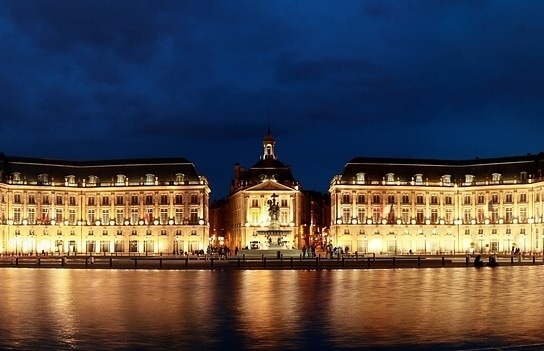 Mirroir d'eau & Place de la Bourse